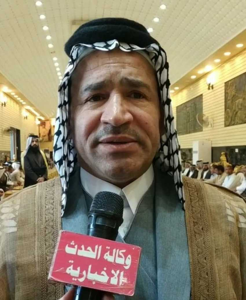 امارة زبيد في العراق تعقد مؤتمر عشائري موسع لمساندة الشعب الفلسطيني