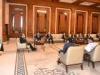 رئيس الجمهورية يؤكد أهمية دعم سيادة العراق ووقف الخروقات العسكرية التركية