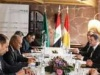 أبو الغيط خلال لقائه بارزاني: كردستان نموذج ناجح للحكم في العراق