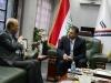 الوكيل الفني لوزارة الاتصالات العراقية يلتقي بمدير شبكة الاعلام العراقي لبحث افق التعاون المشترك