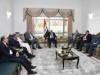 الدكتور حيدر العبادي يستقبل رئيس ائتلاف الوطنية الدكتور اياد علاوي ويبحثان مجمل الاوضاع في البلد وتقويم العمل الحكومي