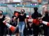 زعيمة هونغ كونغ تصف المتظاهرين بأعداء الشعب