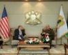 السفير الأمريكي في ليبيا يلتقي حفتر