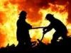 إندلاع حريق داخل مطار المثنى..و12 فرقة اطفاء تتوجه لإخماده