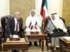 عبد المهدي والغانم بحثا أمن المنطقة وحل توتراتها بشكل سلمي