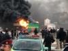 أعمال عنف في تظاهرات البصرة وإصابة شرطي