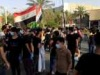 تظاهرة منددة باعتقال ناشط بالاحتجاجات في البصرة