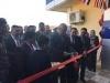 محافظ الانبار ووزير التجارة يفتتحان مقر الشركة العامة لتصنيع الحبوب في الرمادي .