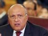 وزير الخارجية المصري يدعو خلال اتصال مع نظيره الفرنسي لوقف هجوم إسرائيل على غزة