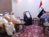 الحلبوسي والوفد الخليجي يبحثان خطة عمل مشتركة وتوقيع مذكرة تعاون