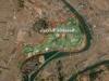 سقوط صاروخ كاتيوشا في وسط المنطقة الخضراء ببغداد