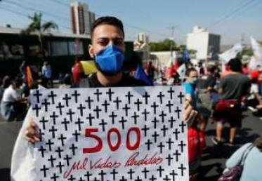 احتجاجات عارمة في البرازيل