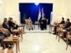 السيد عمار الحكيم يستقبل الحلبوسي ويشدد على تشريع القوانين المهمة وابعاد مجلس النواب عن المناكفات السياسية
