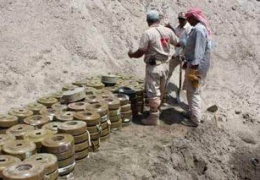 مقتل 5 خبراء ألغام في اليمن
