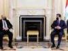 رئيس حكومة كردستان يستقبل وزير الإتصالات